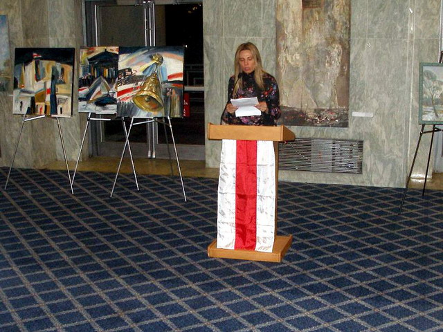 Art against Disctatorship in USA House of representatives